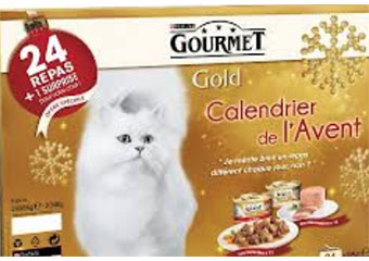 chat calendrier avent